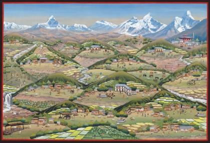 posterCommunityDevelopmentArtNepal_Gyanu Lama